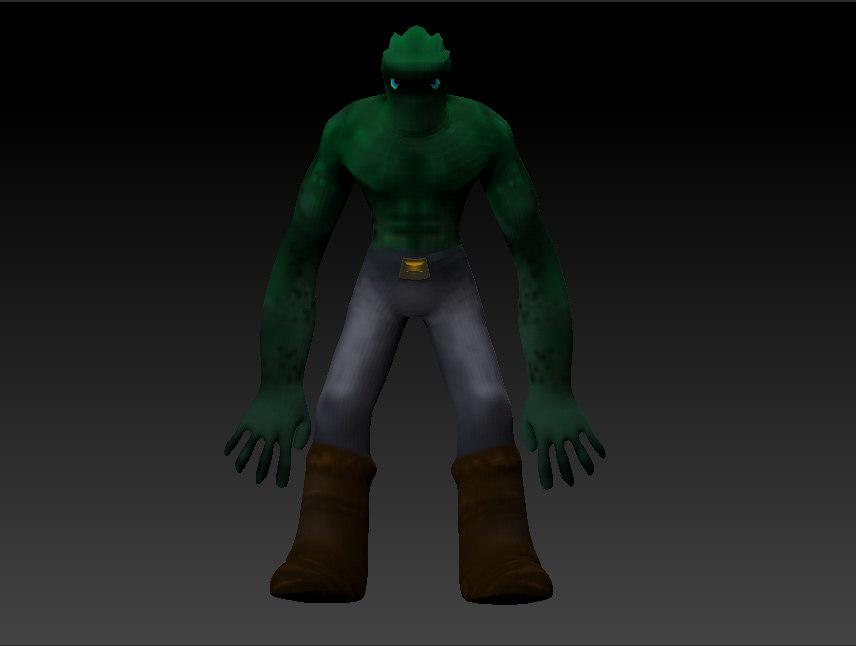 3d model green
