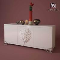 elledue flowers 3d model