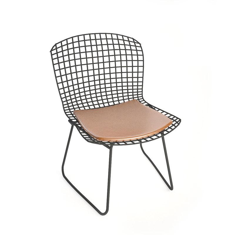 3d model knoll bertoia dining chair