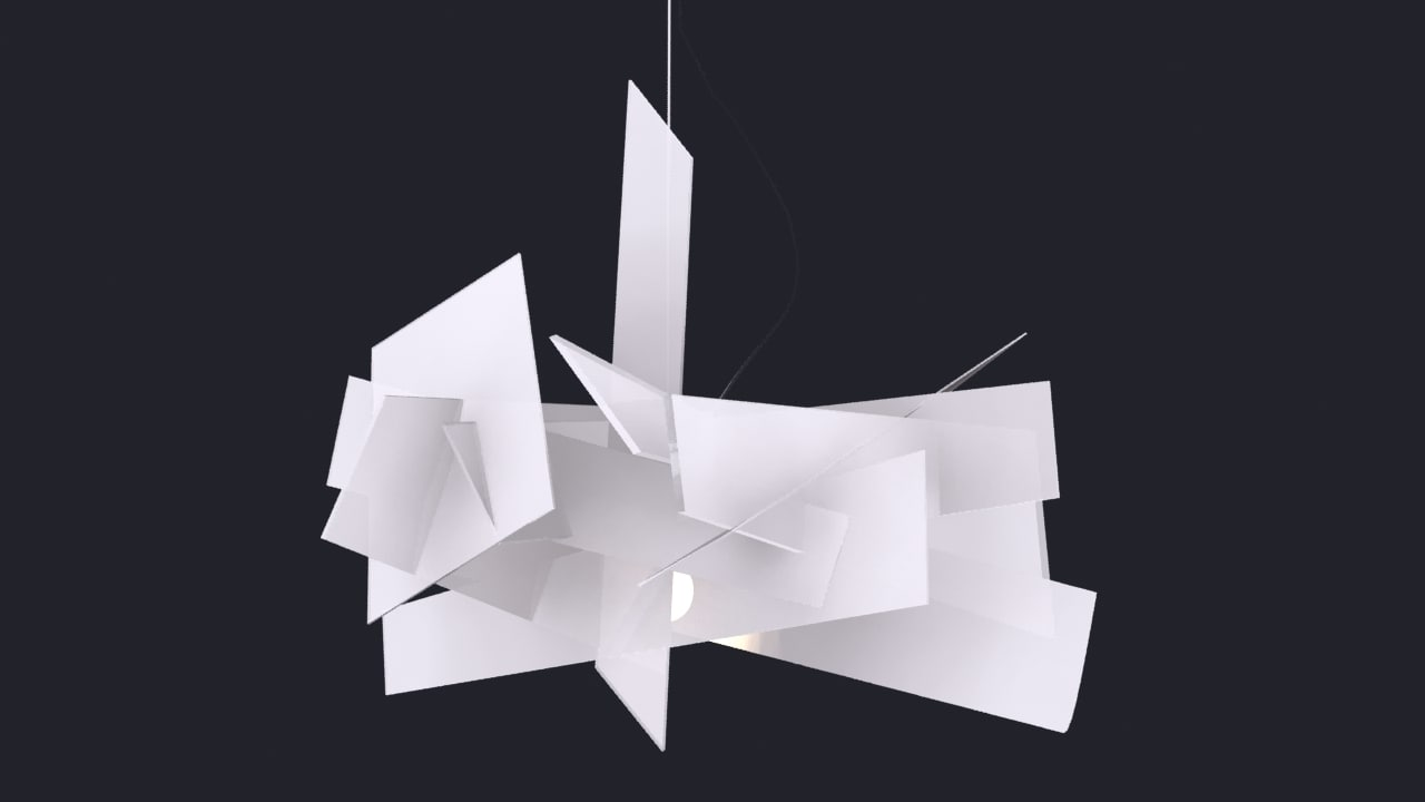 max big bang lamp foscarini