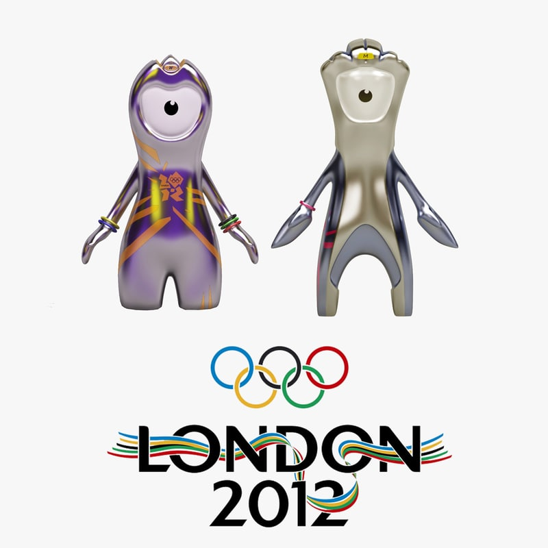 wenlock mascots london 2012 3ds