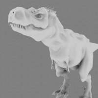 3d dinosaurs tyrannosaurus rex