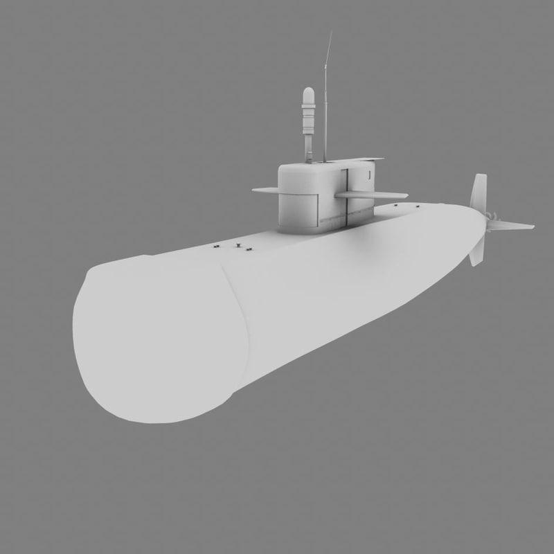 maya standard submarine