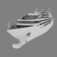 3d model arctic cruise ship le