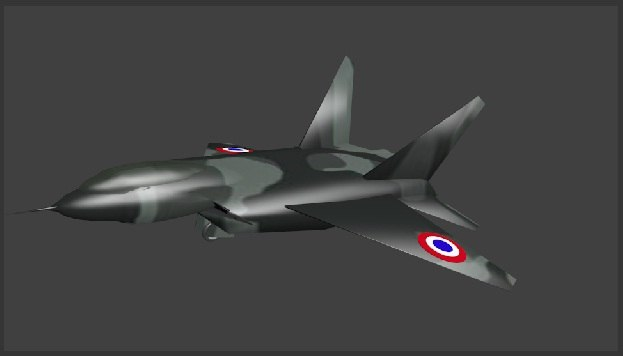 f-22 raptor 3d blend