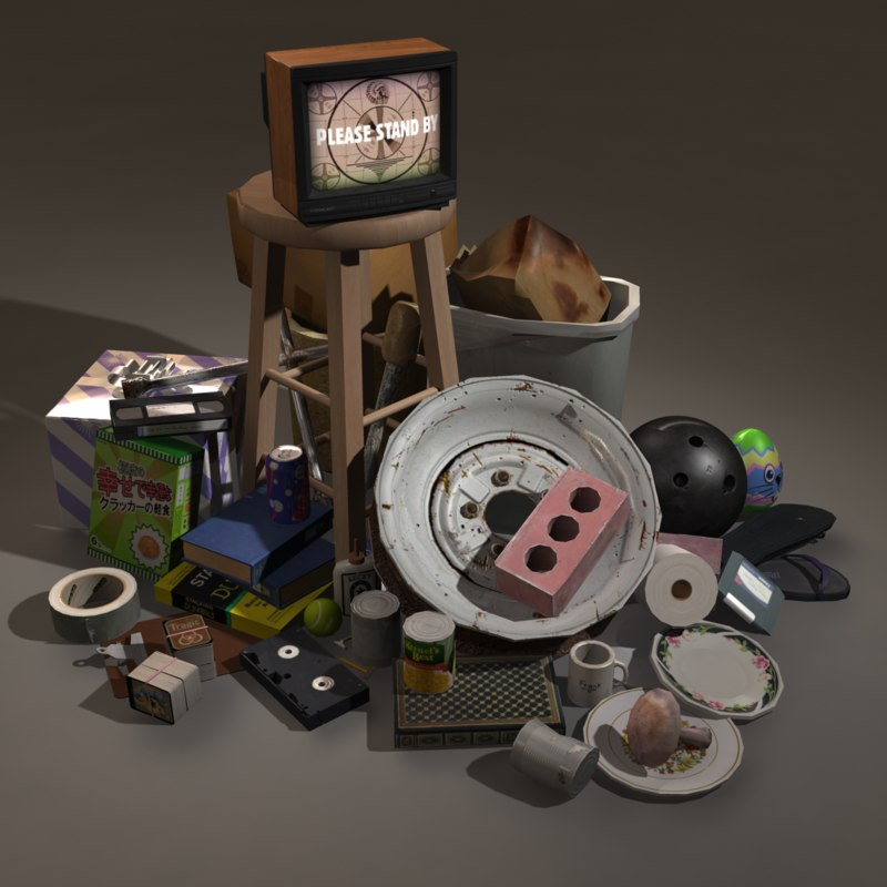 3d items bowling ball model