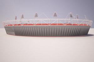 2012 olympic 3d model