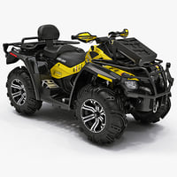 ATV Bombardier Outlander 800R X MR 2012