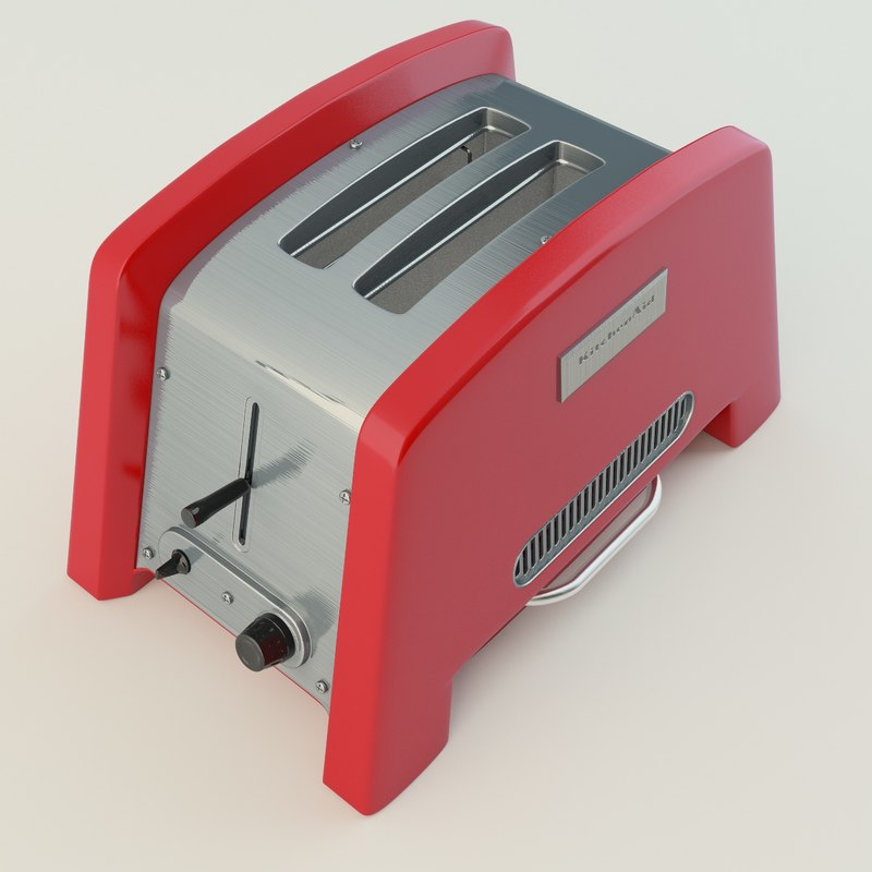 c4d toaster kitchen aid