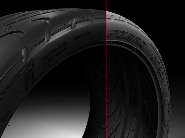 3d max pirelli p zero medium