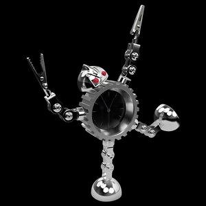 max robot clock