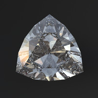 Triangle cut diamond