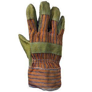 3d protective glove model