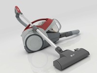 3d model vacuum cleaner lg