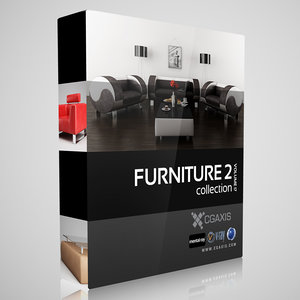 cgaxis volume 17 furniture 3d max