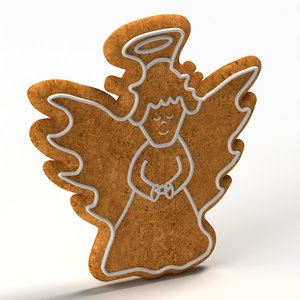 gingerbread ginger bread 3d model