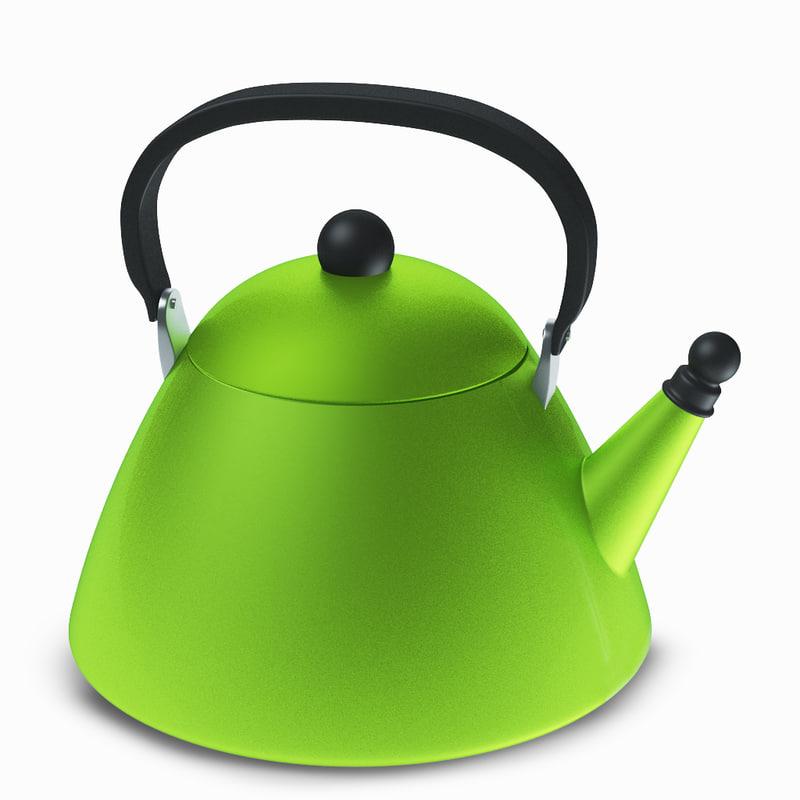 le creuset kettle 3d 3ds