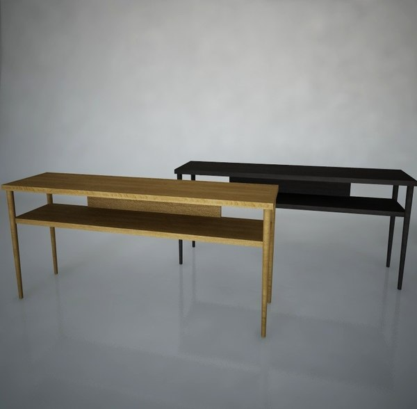 stockholm sofa table ikea 3d 3ds