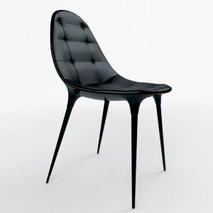 3d model caprice chair cassina