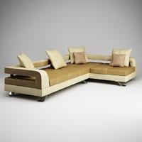corner sofa 18 3d max