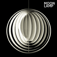 3d moon lamp vitra light model