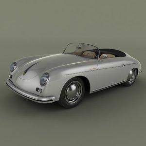 max porsche 356a speedster
