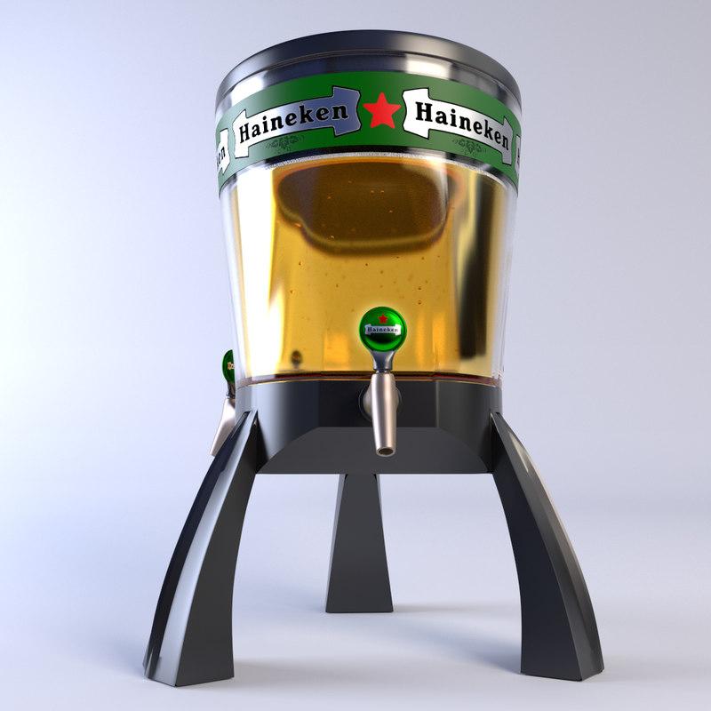 3d beer dispenser
