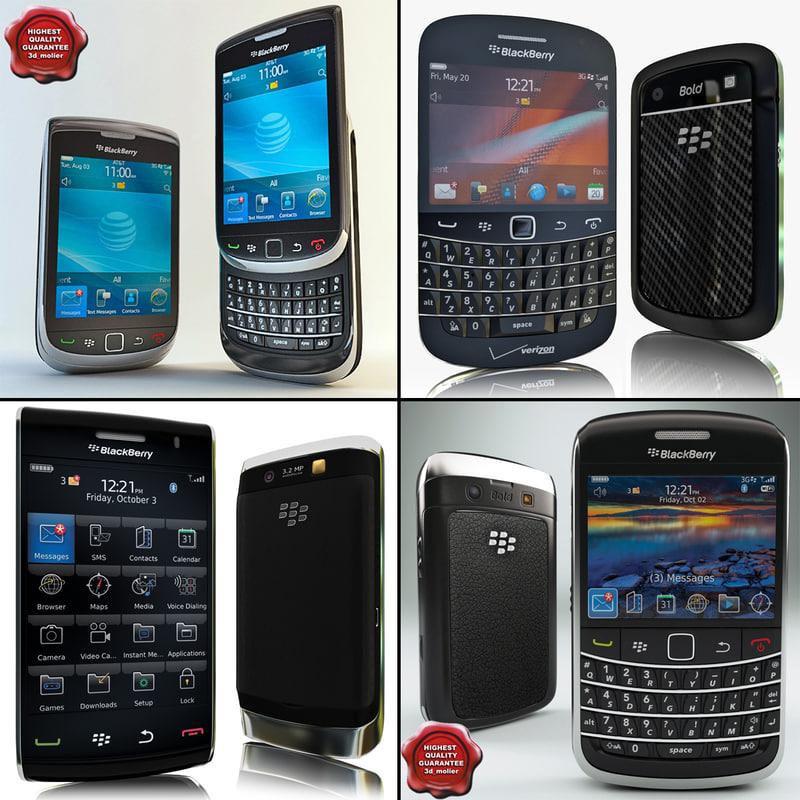 3ds max blackberry phones v1