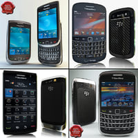 Blackberry Phones Collection V1