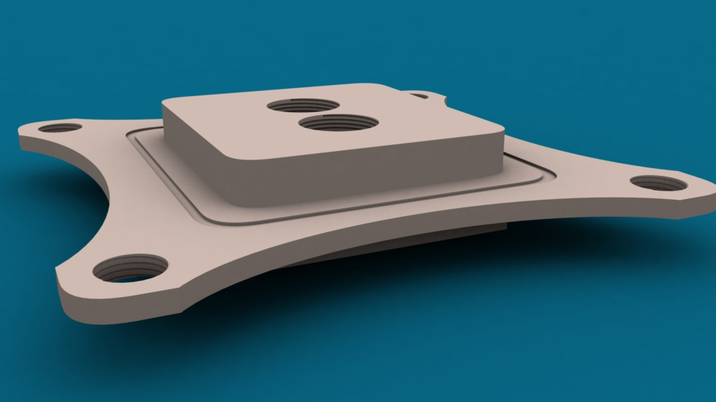 3ds max cp waterblock intel