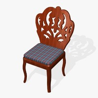 3d seat chair