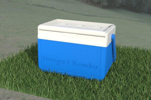 3d model cooler