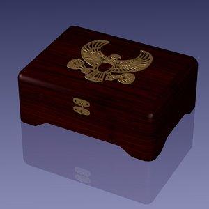 maya egyptian jewelry box