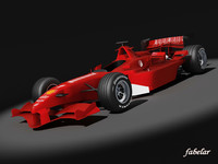 generic formula 1 f1 car 3d max