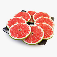 Grapefruit Lobule Green