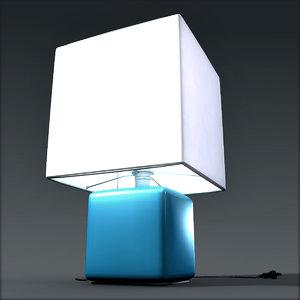 lamp light 3d obj
