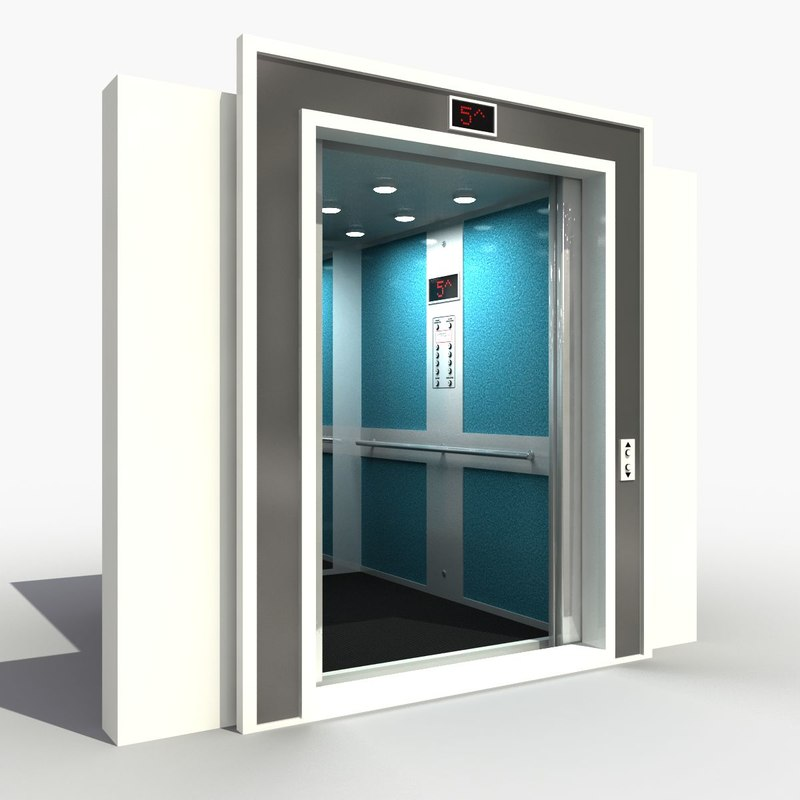 Interior Door Lifts : Lift interior d model