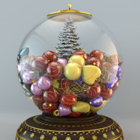 Snow Globe Christmas Decoration