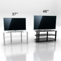 3d model samsung d6510 tv