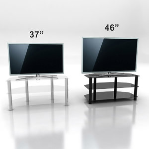 3d model samsung d6510 tv