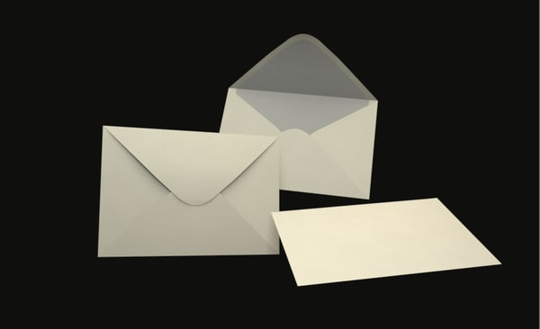 c4d modelled envelope