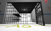 cinema4d prison cell