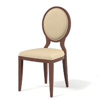 Selva Opera classic dining chair oval round back