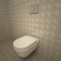 Duravit Starck3 Wall Mounted Toilet