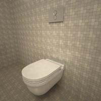 Duravit Starck3 Wall Mounted Toilet