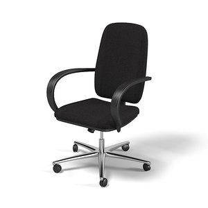 3d model swivel executive office
