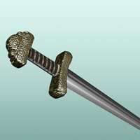 obj viking sword
