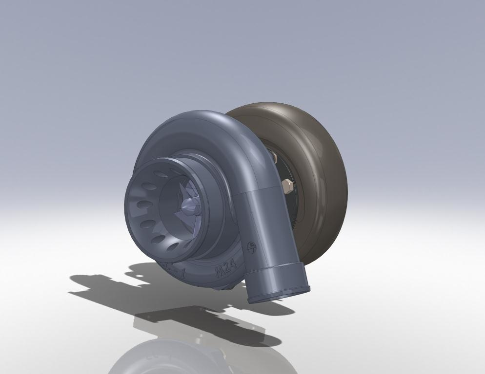 3d ige garrett t04z turbocharger