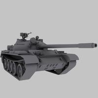T-55 Soviet Tank Game Model