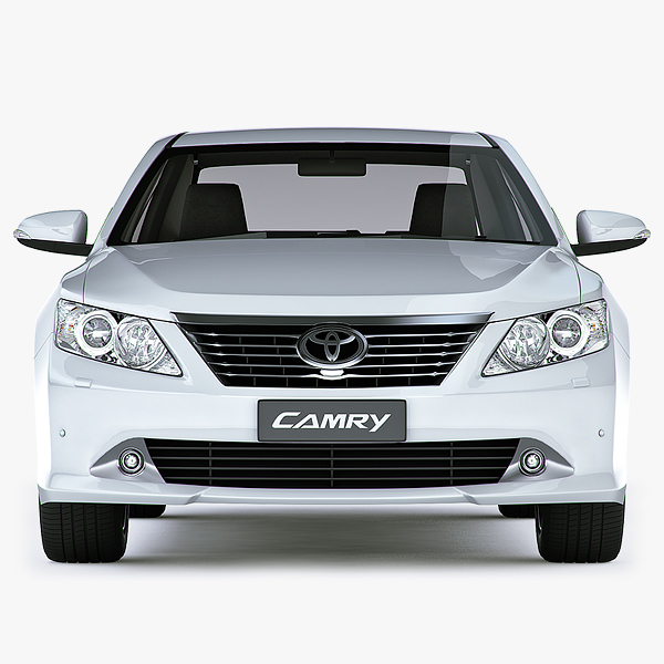 3ds max toyota camry 2012 global